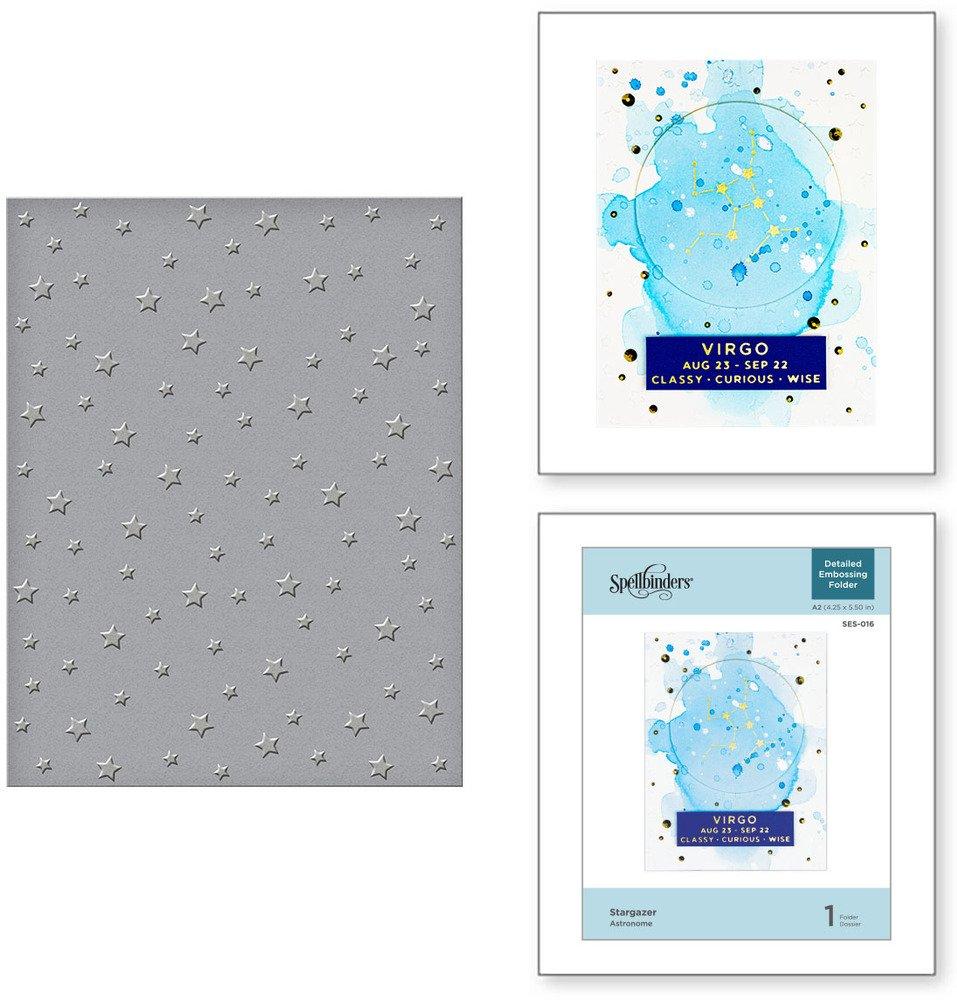 Embossing Folder, Stargazer