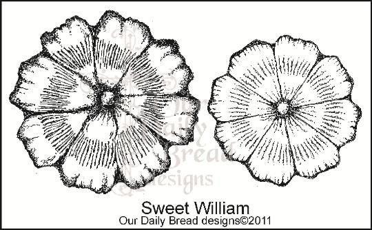 Stamp, Sweet William