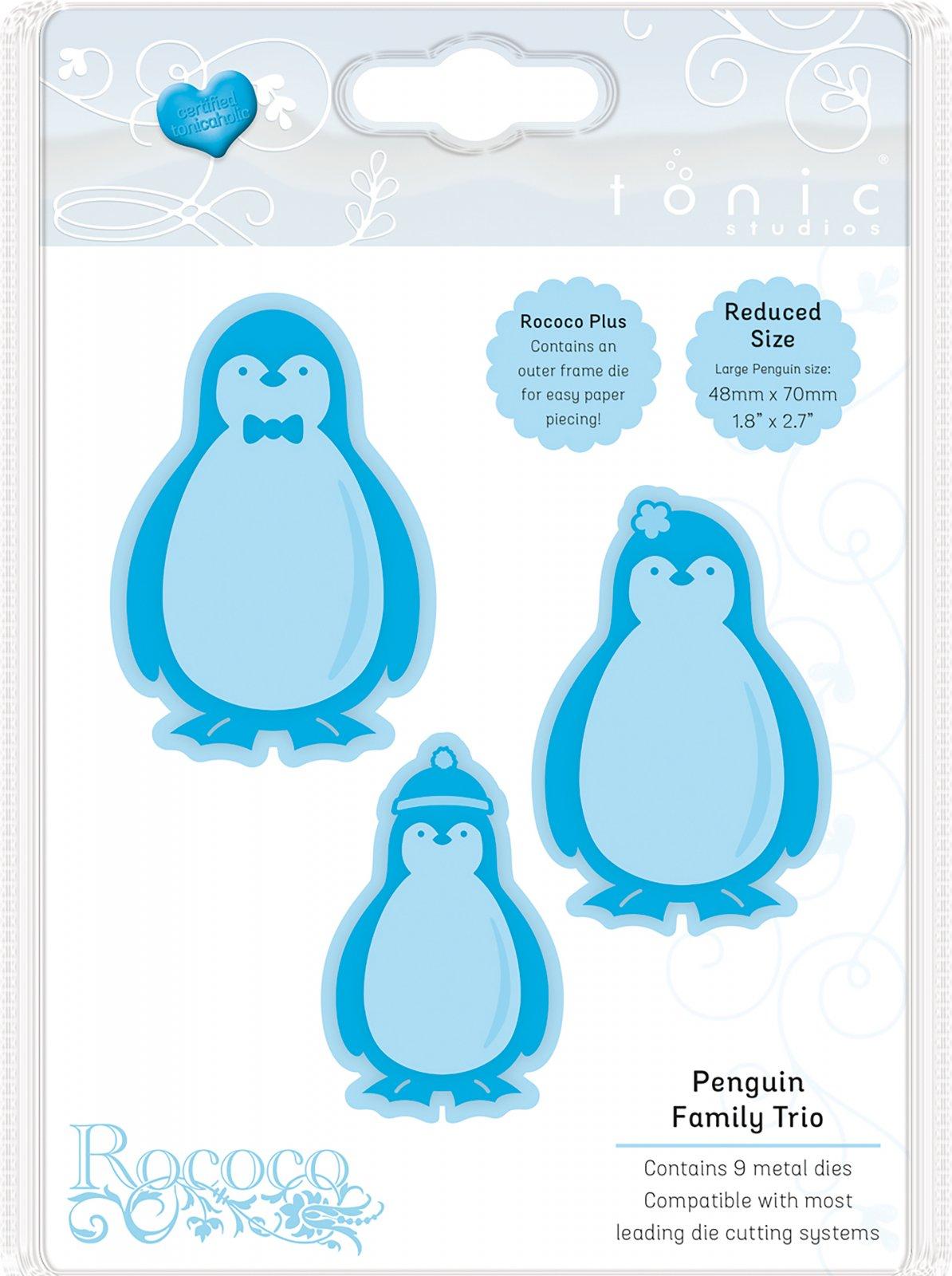 Die, Penguin Family Christmas Trio