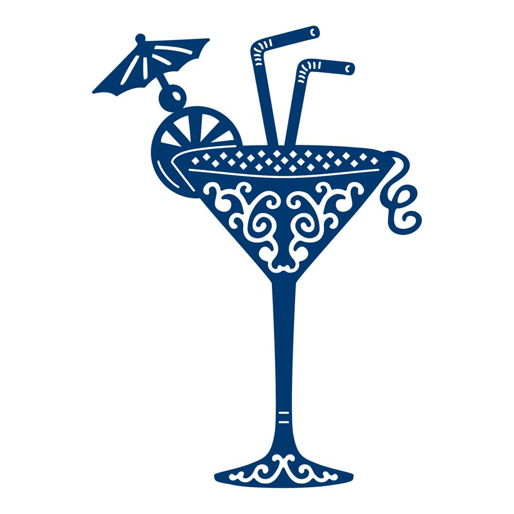 Die, Cocktail Glass
