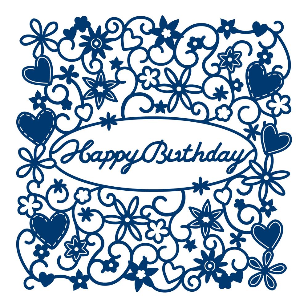 Die, Happy Birthday Tapestry