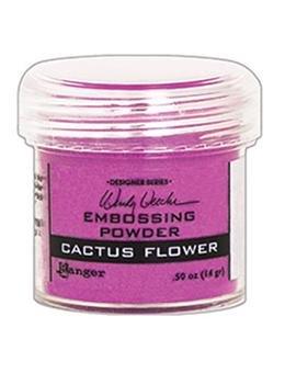 Embossing Powder, Cactus Flower