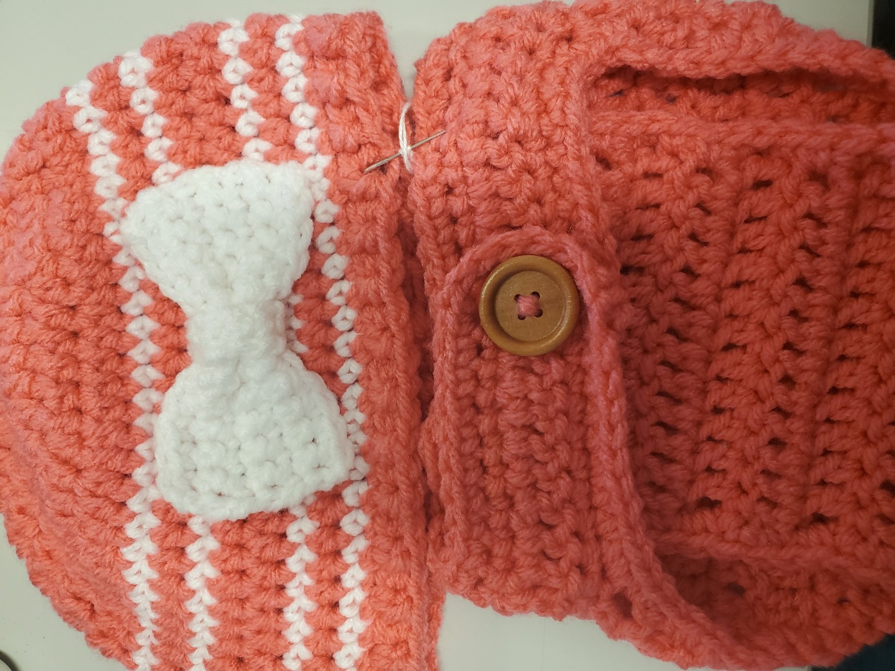 Baby Hat & Diaper Cover