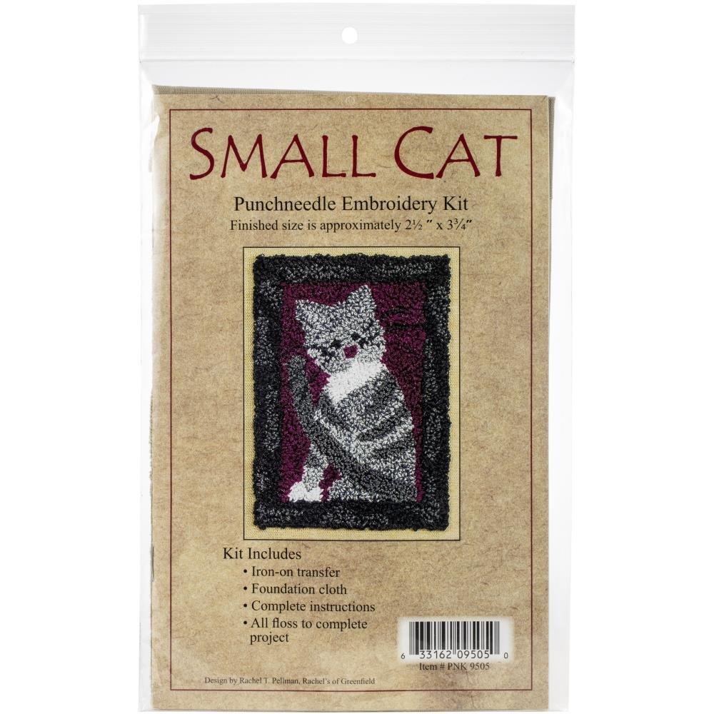 Small Cat  Needle Punch Kit - 2.5 x 3.75