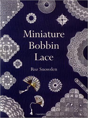 Miniature Bobbin Lace Book