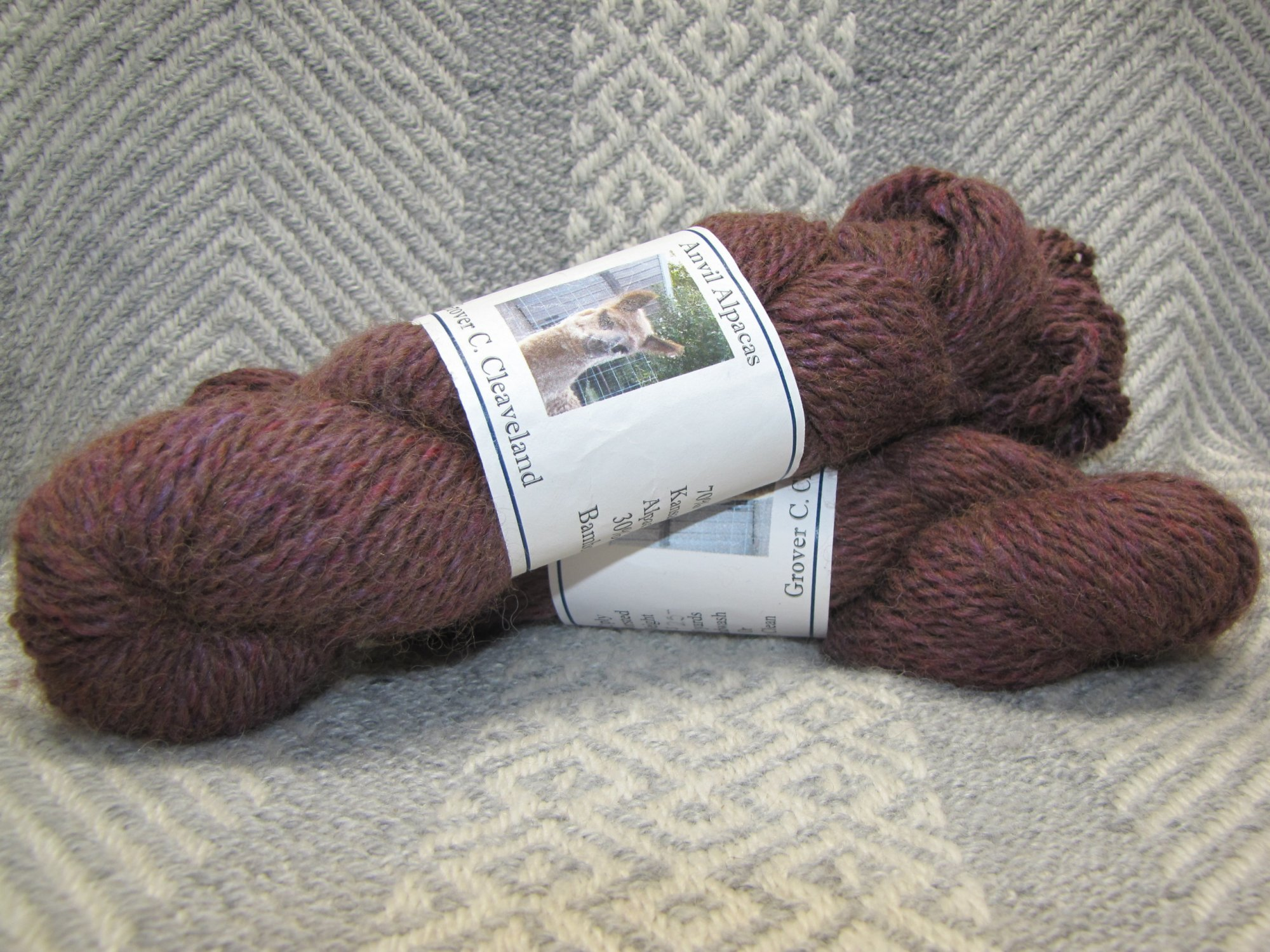 Grover C. Cleaveland, 2 Ply Worsted