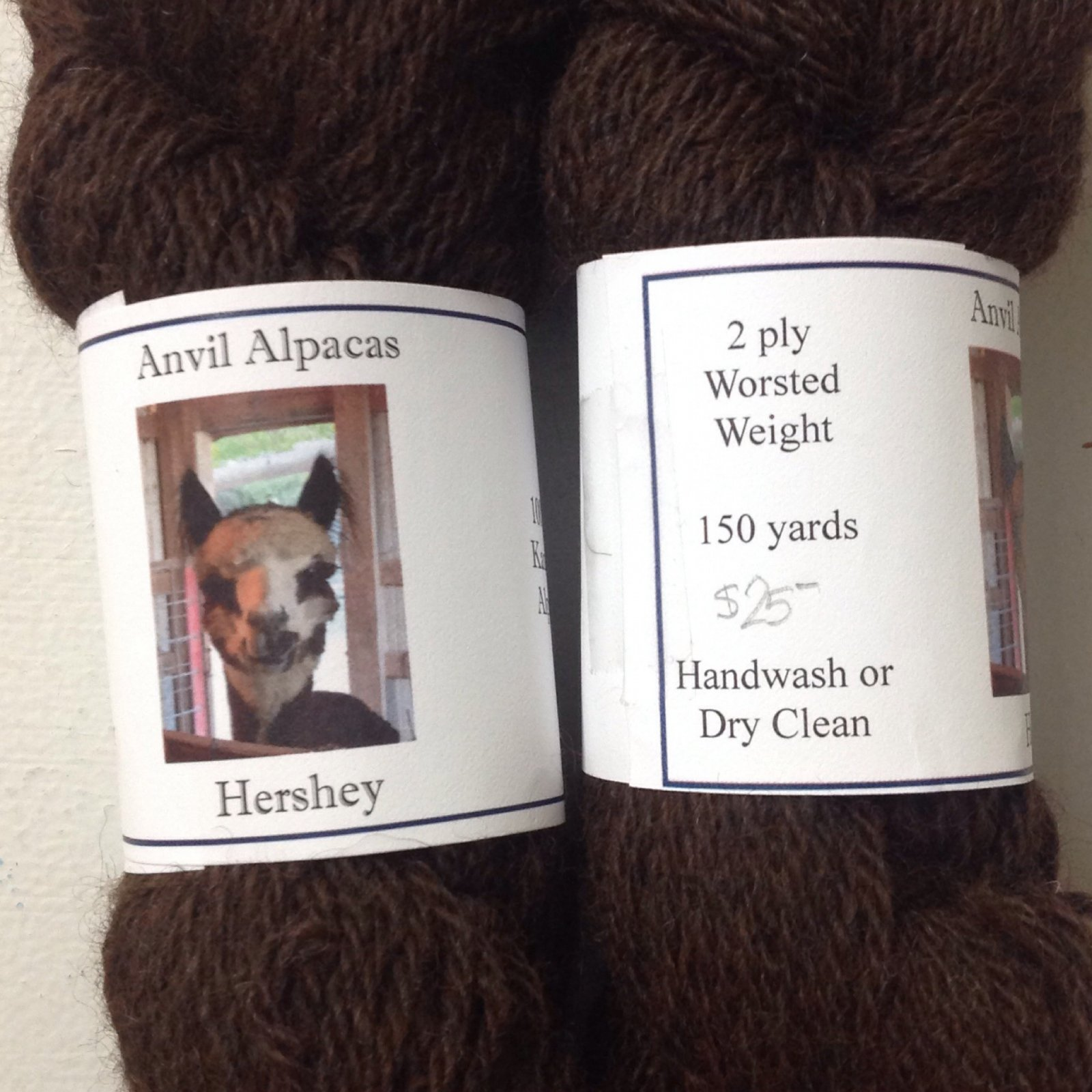 Hershey (3 Ply Worsted)