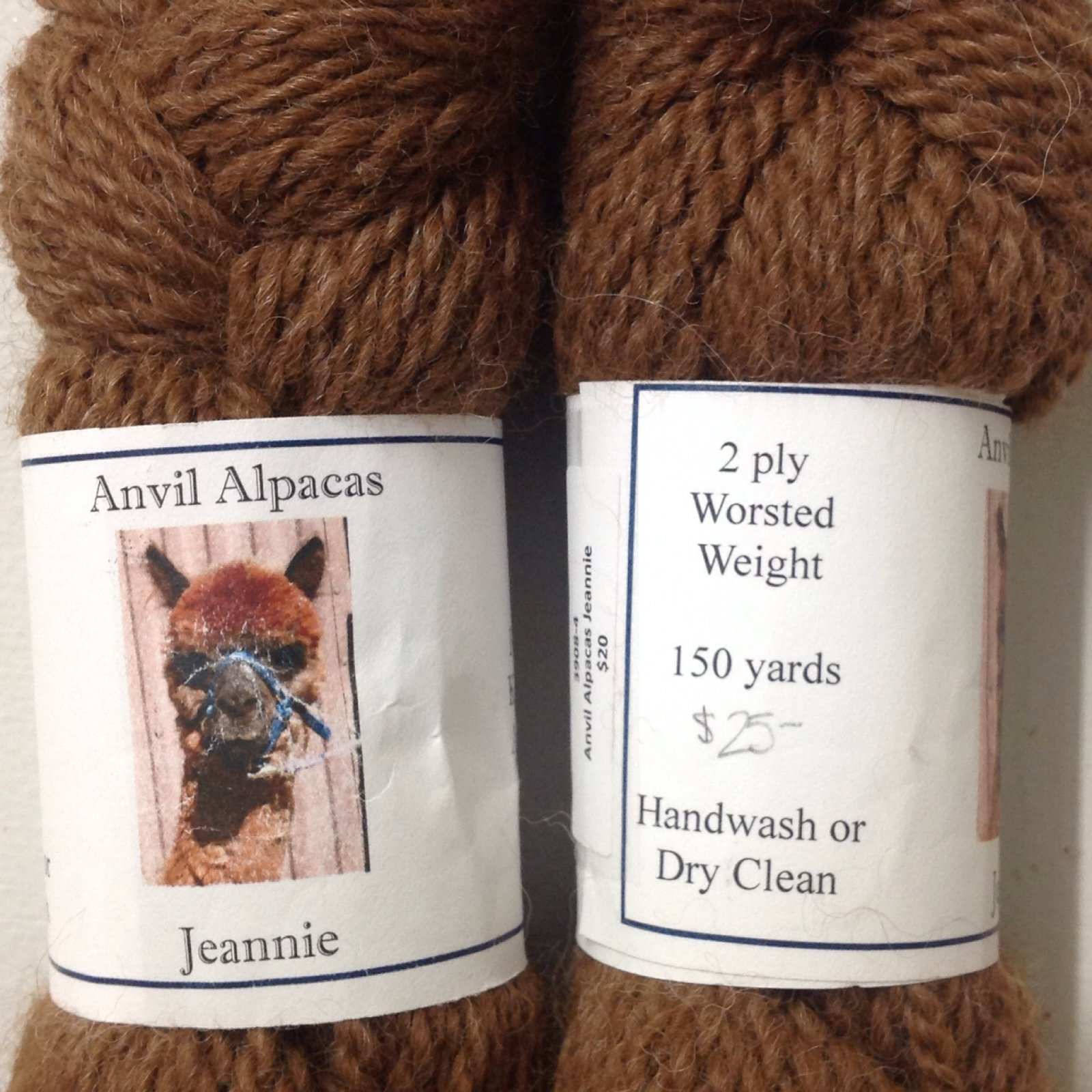 Jeannie (2 Ply Worsted)