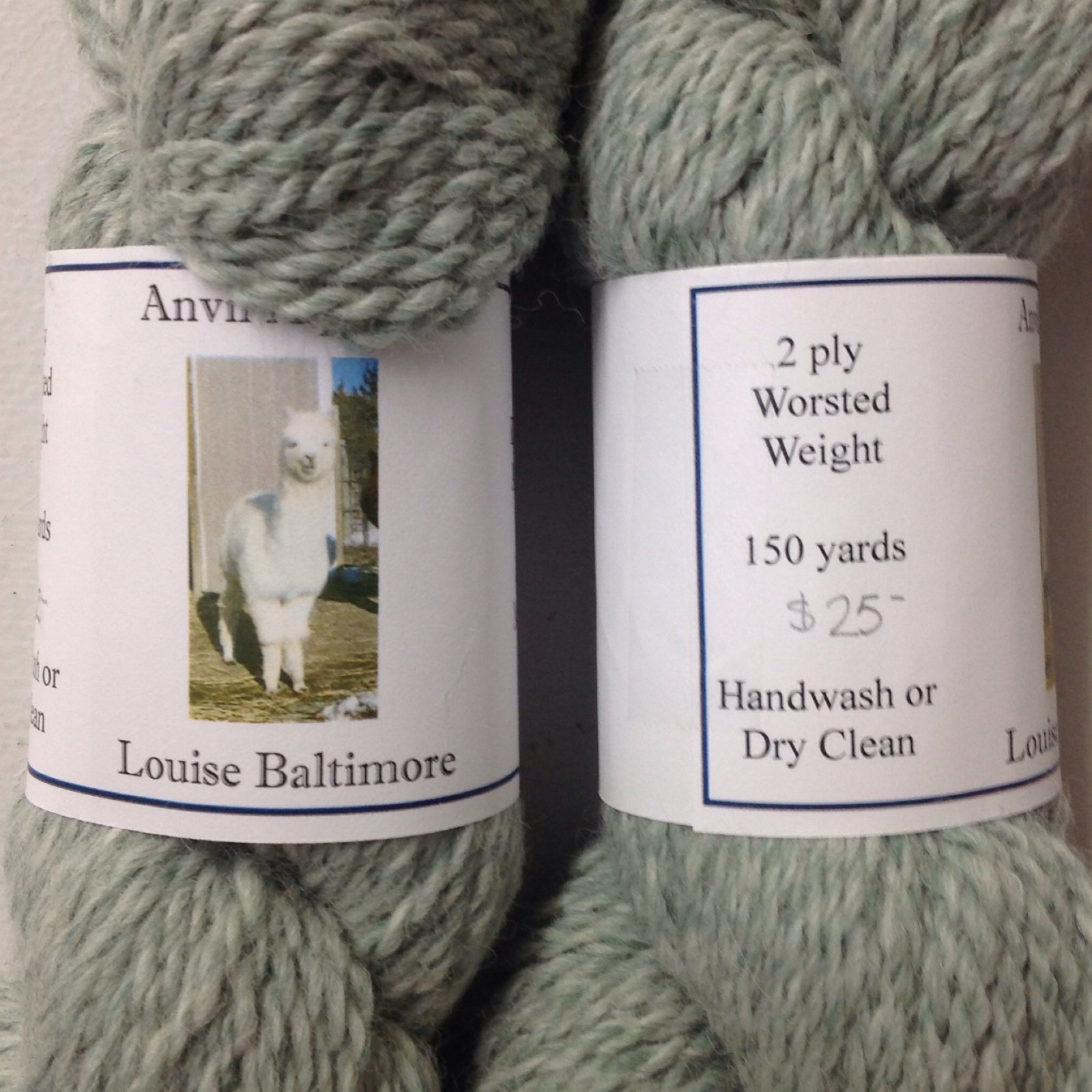 Louise Baltimore (2 Ply Worsted) Grey