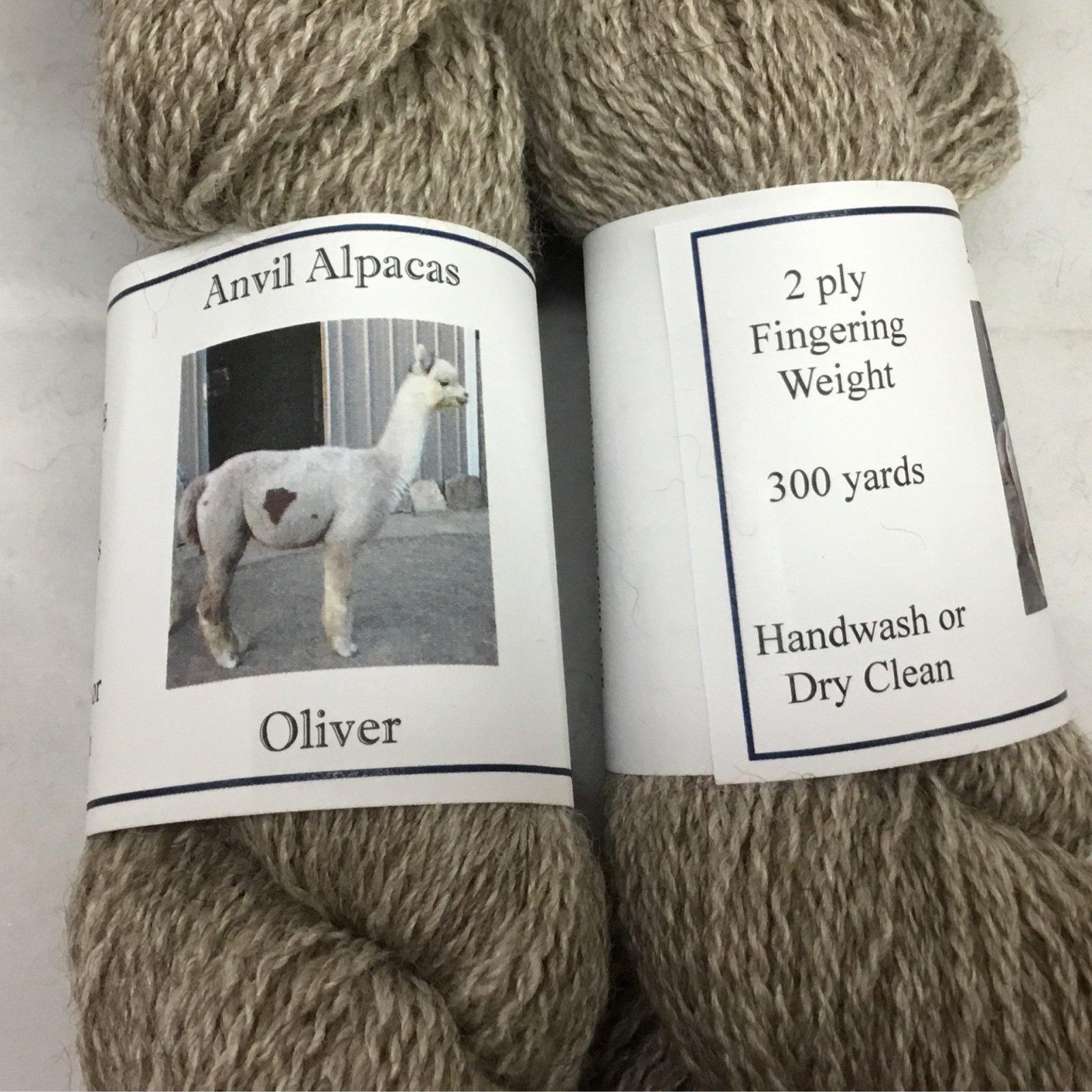 Oliver (2 Ply Fingering)