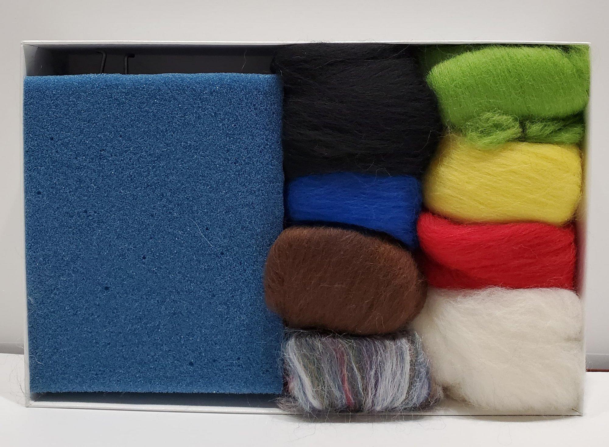 Needle Felt Color Kit