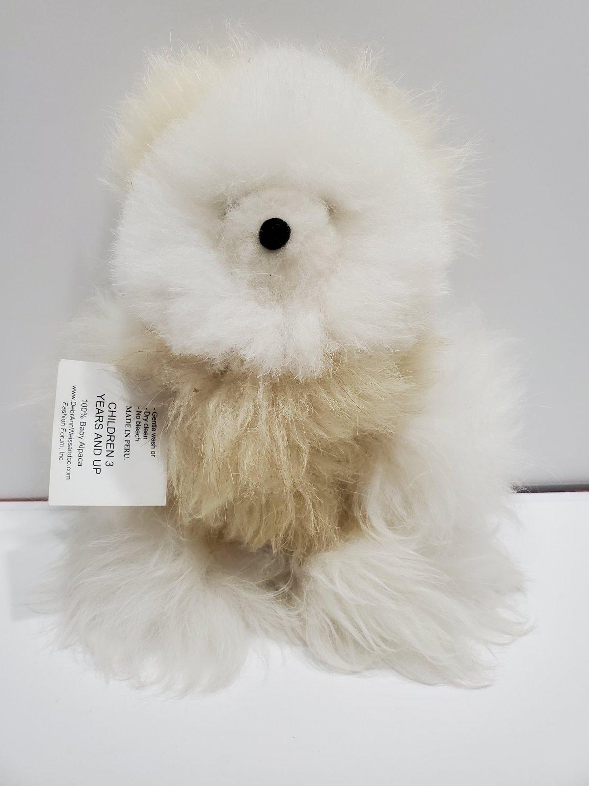Alpaca Critter Small Bear