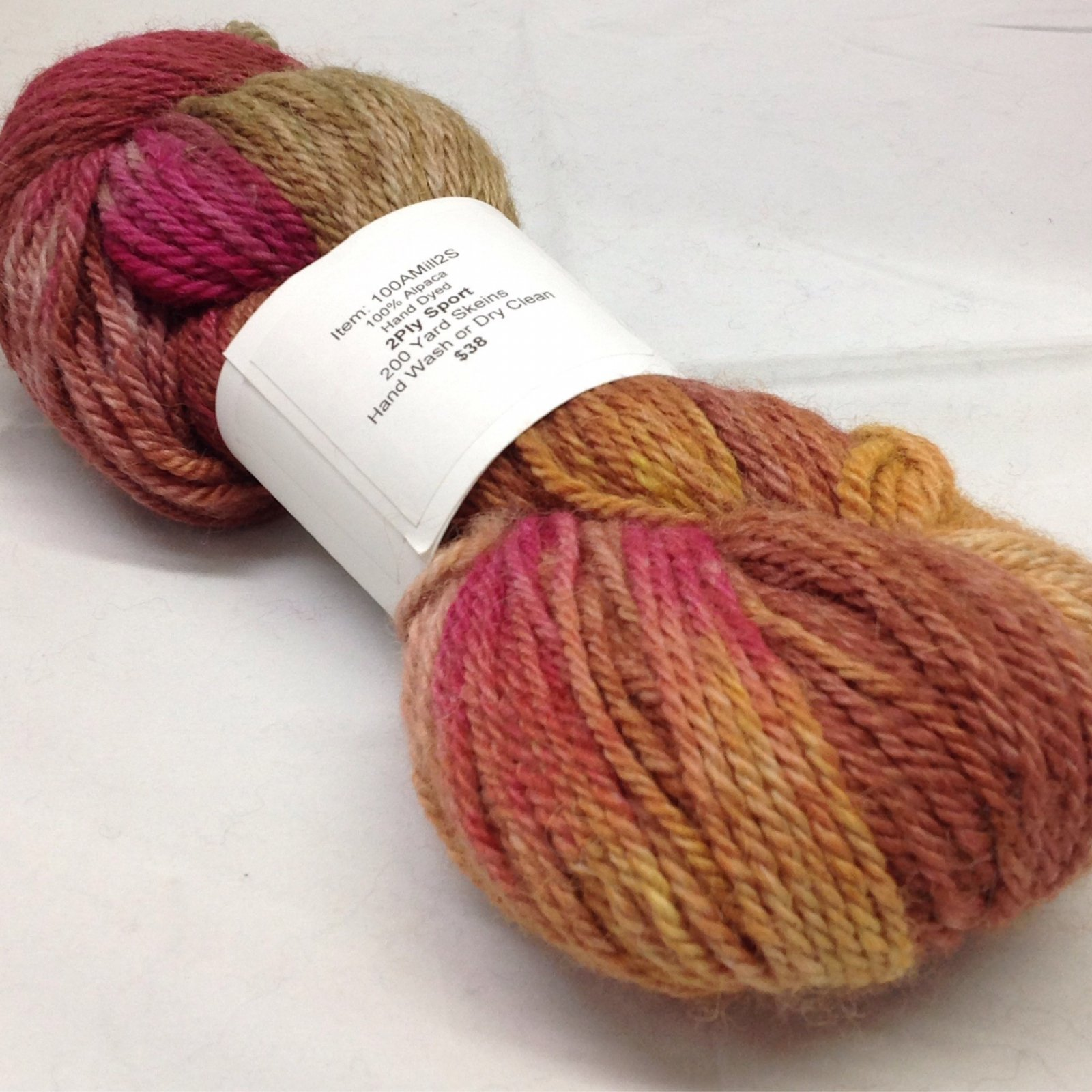 2 Ply Sport, Hand Dyed