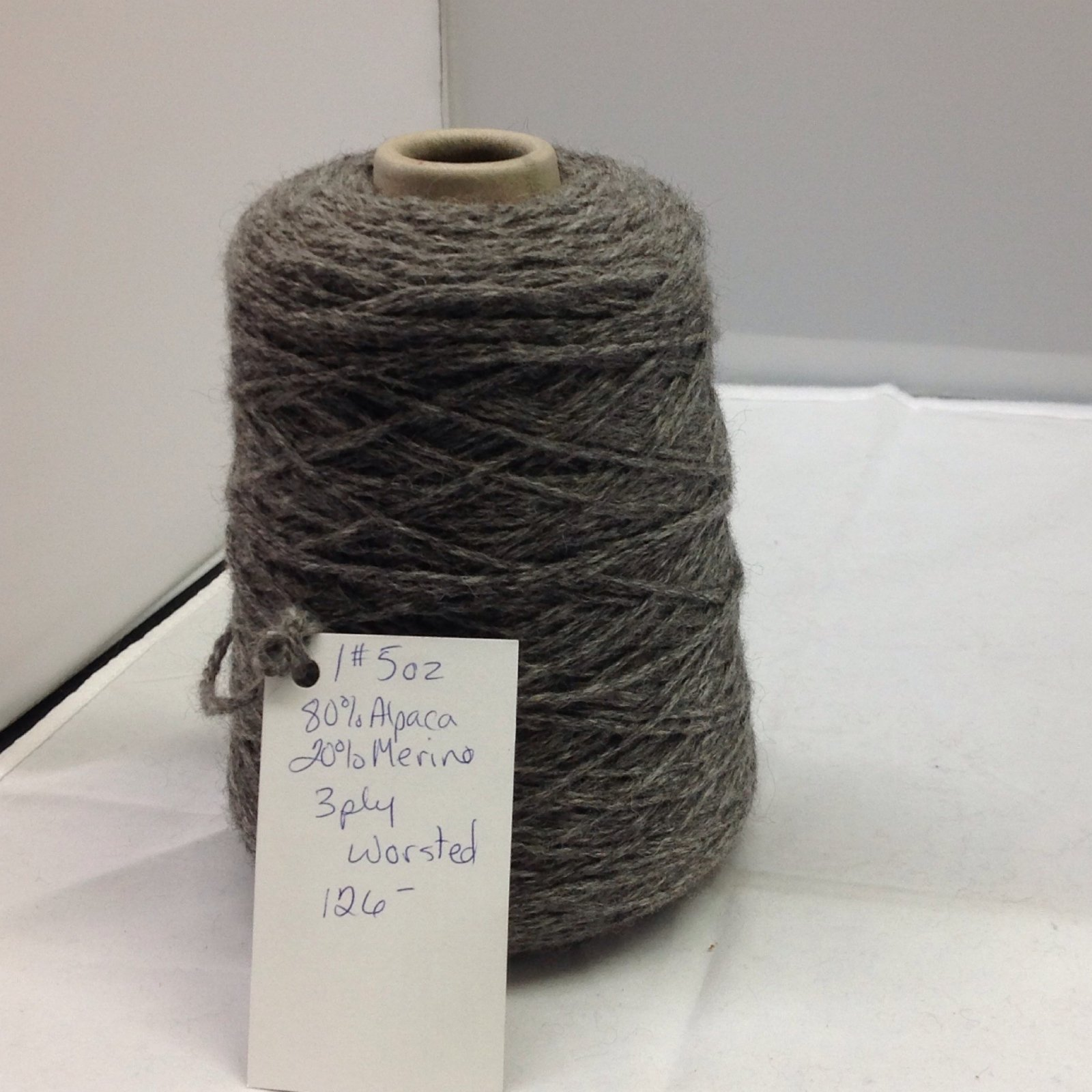 3 Ply Worsted Cone