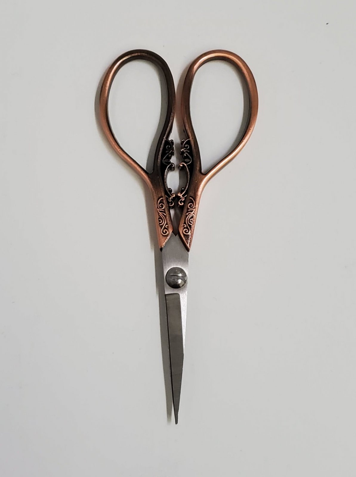 Victorian Scissors Rose Gold