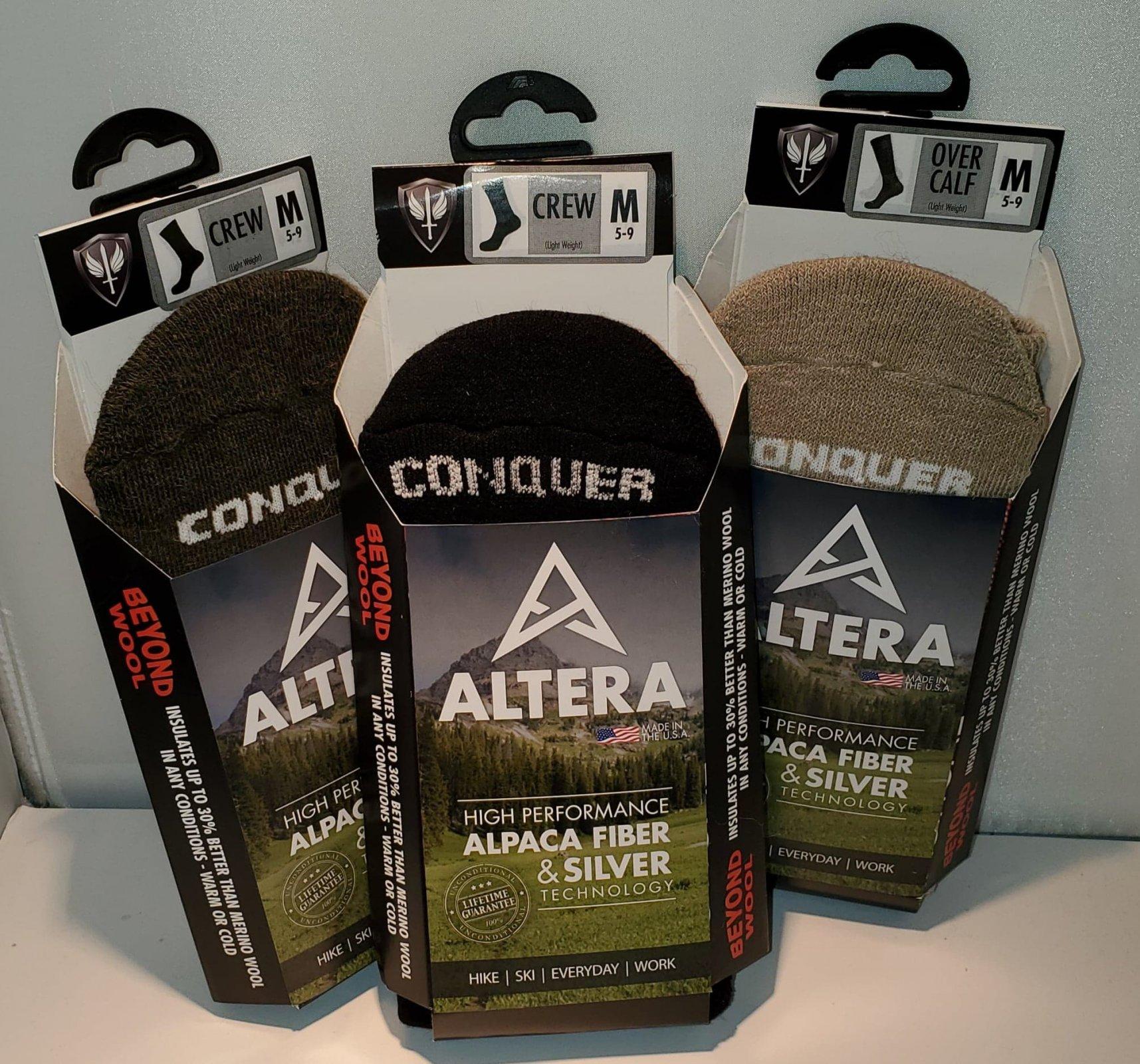 Socks: Conquer CREW Medium