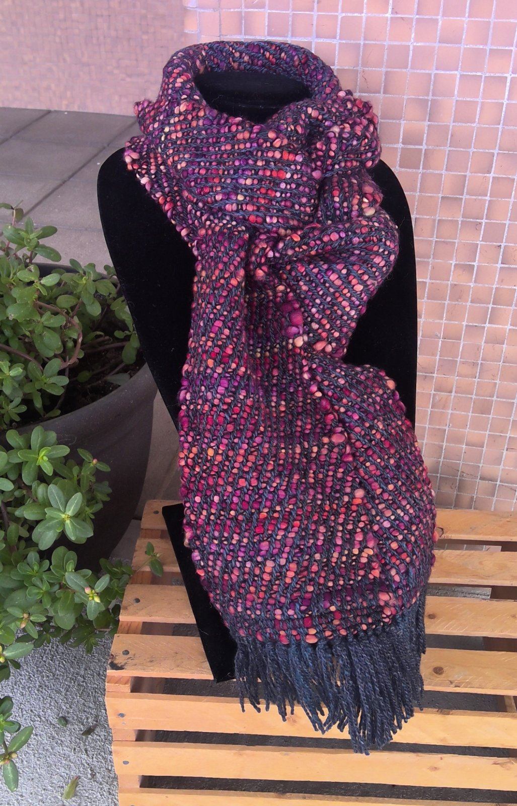 Handwoven Bulky Scarf