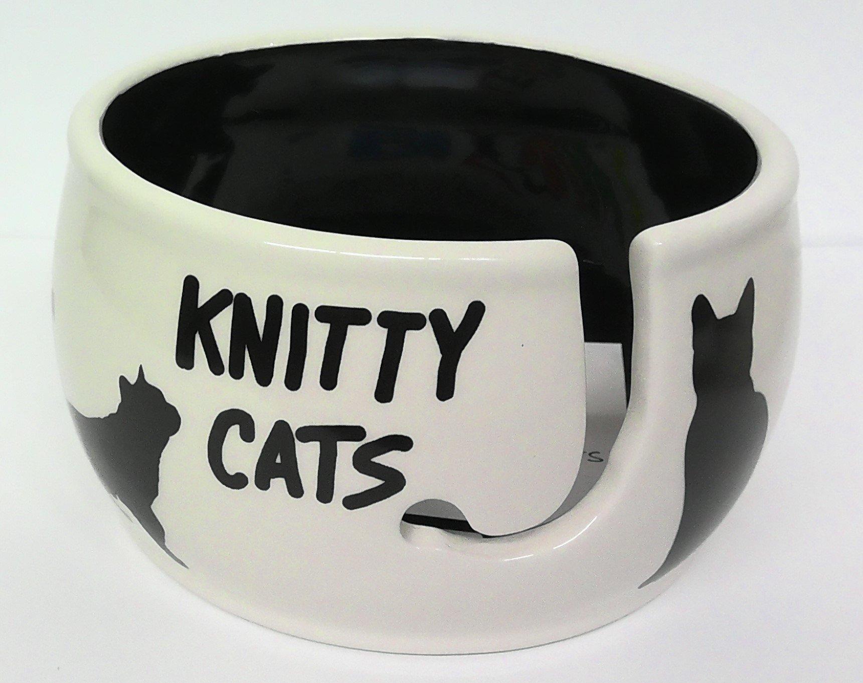 Lenny Mud Knitty Cats Yarn Bowl