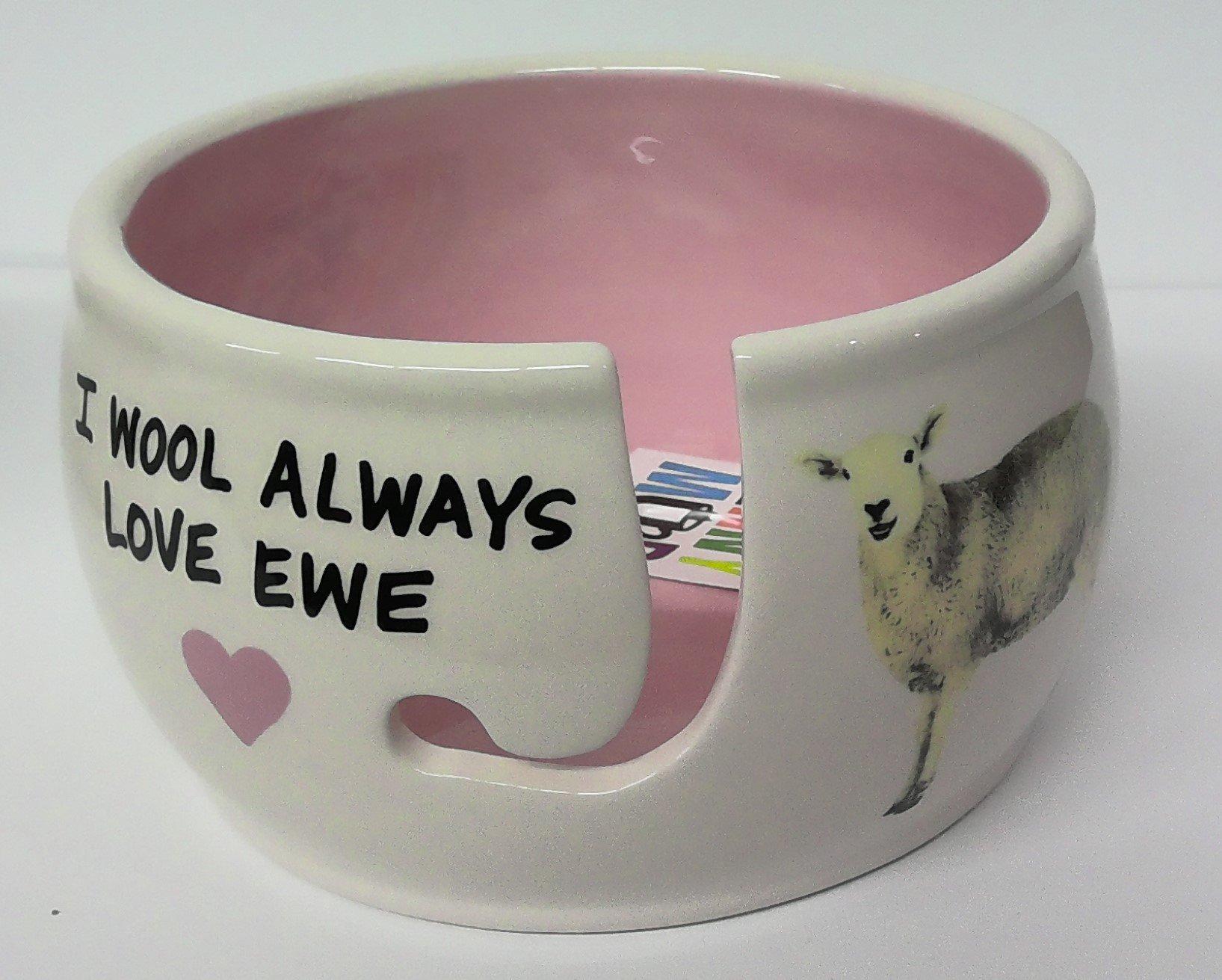 Lenny Mud Always Love Ewe Yarn Bowl