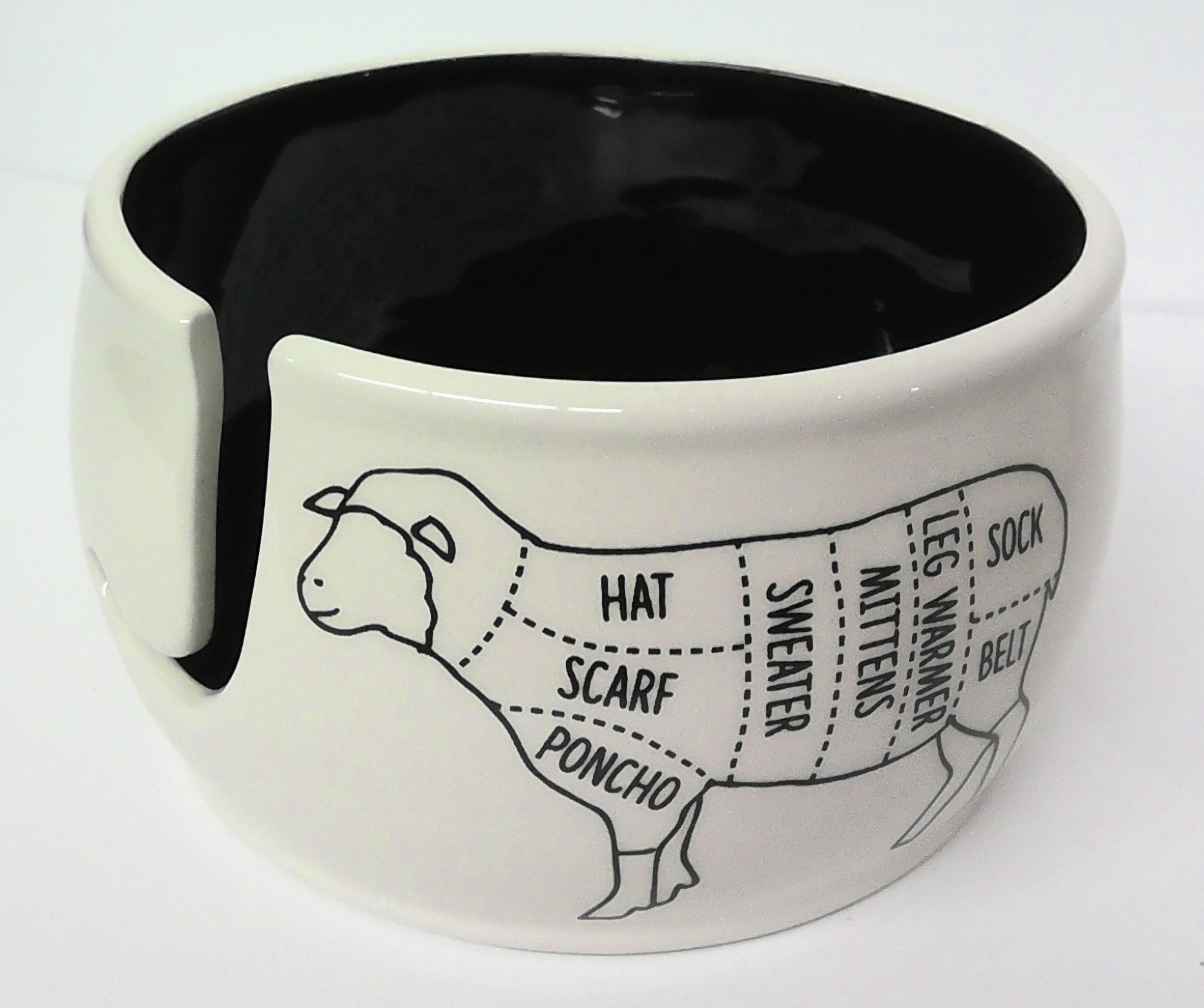 Lenny Mud Sheep Parts Yarn Bowl