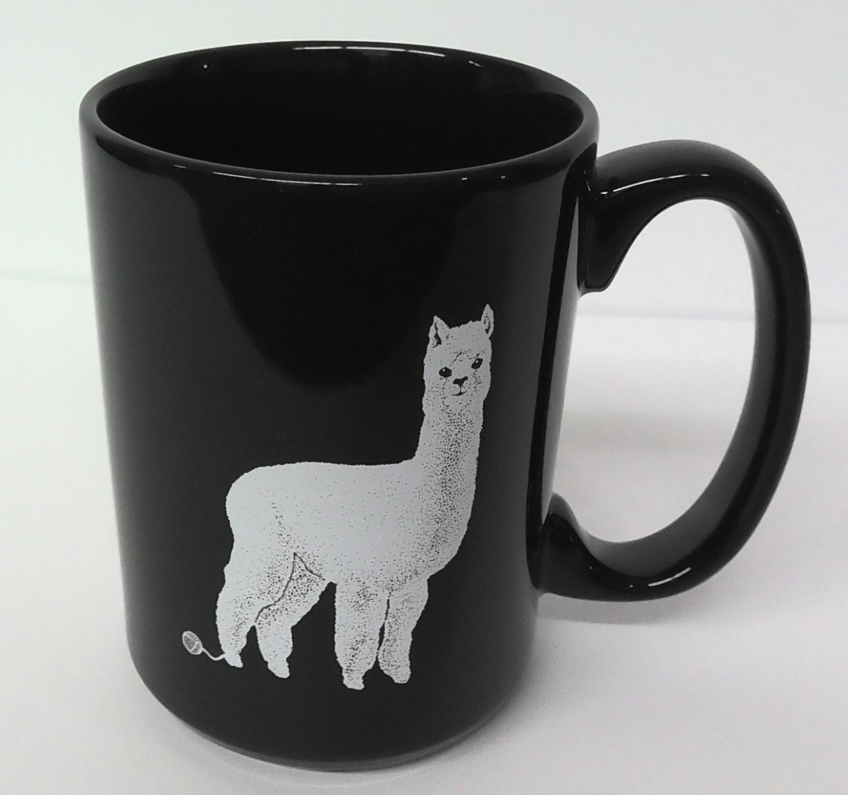 Alpaca Mug Black