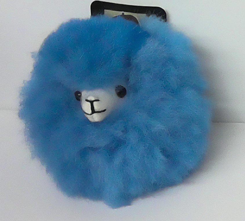Alpaca Critter Keychain