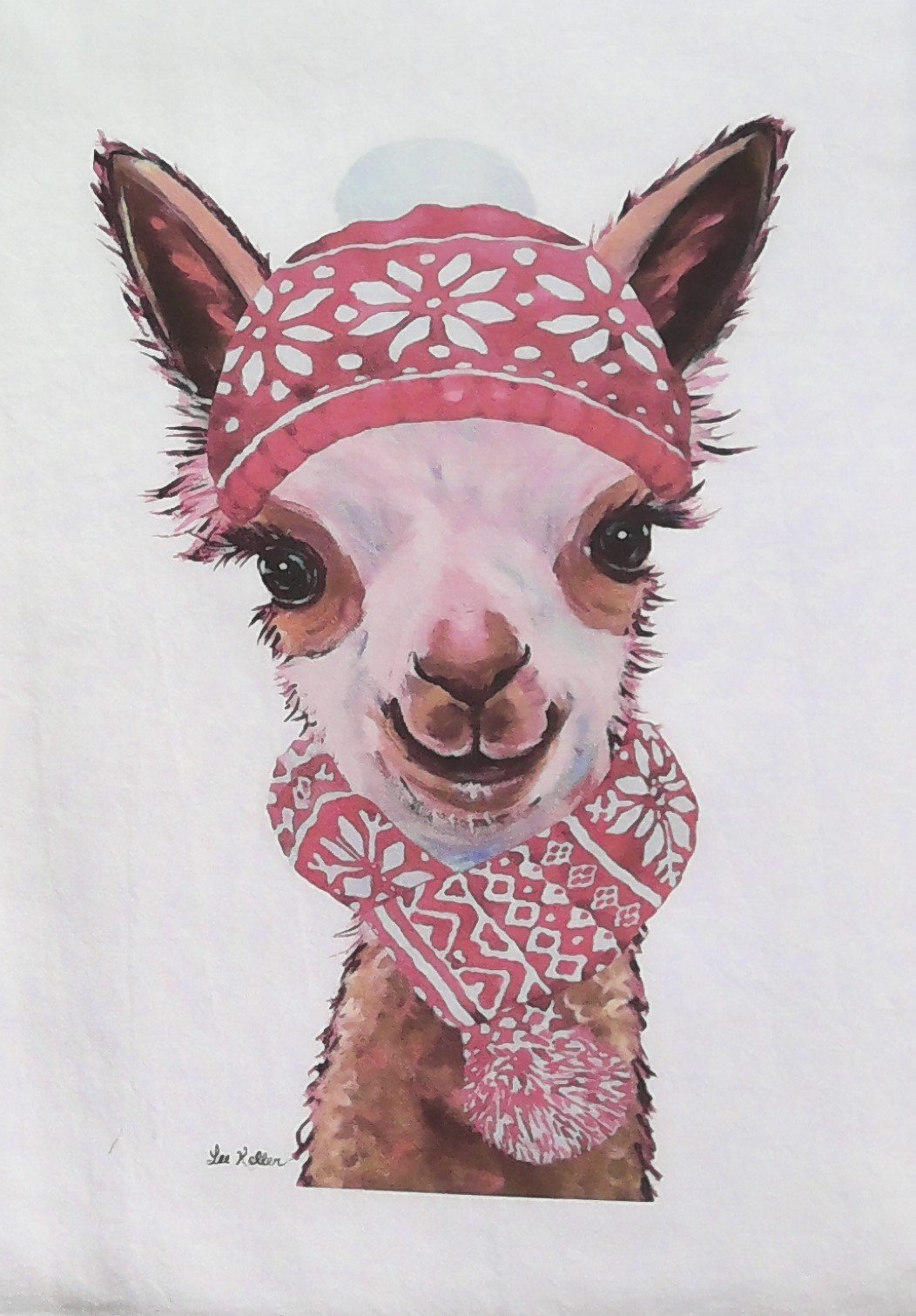 Alpaca Tea Towel - Assorted