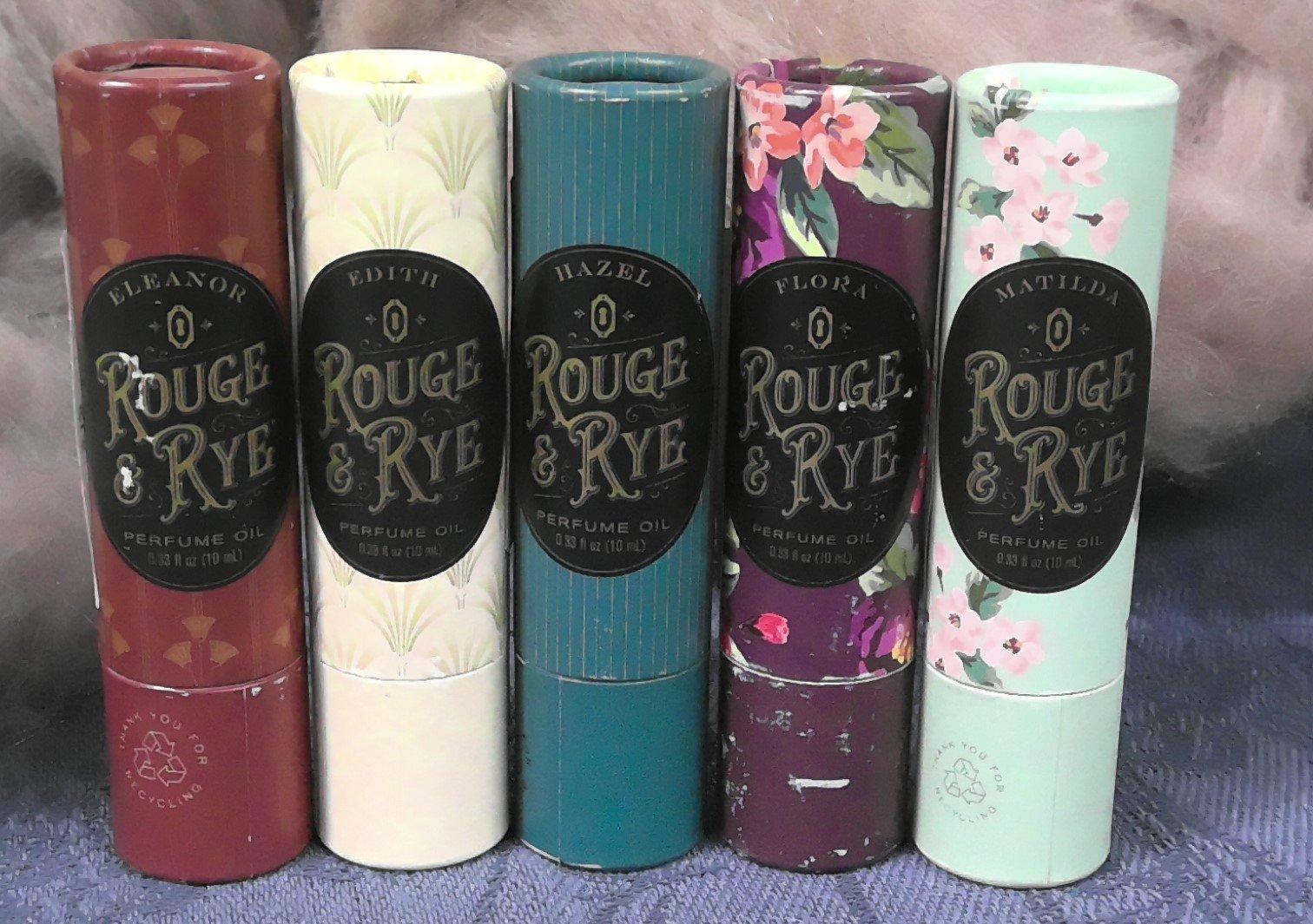 Rouge & Rye Perfume - Variety of Fragrances