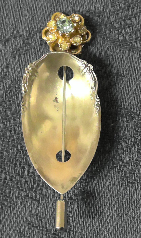Spoon Shawl Pin