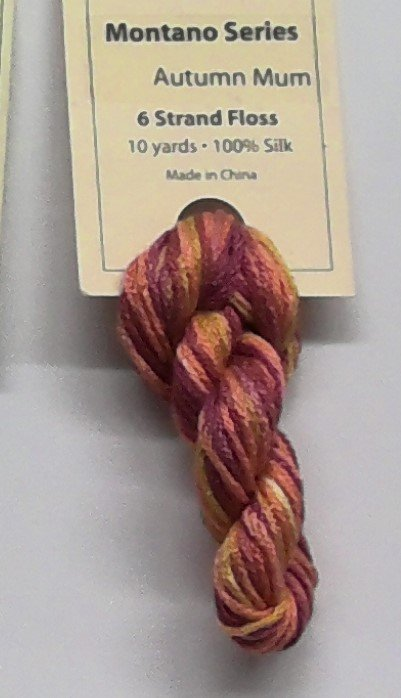 6 Strand Floss - 10 yds  -  100% Silk