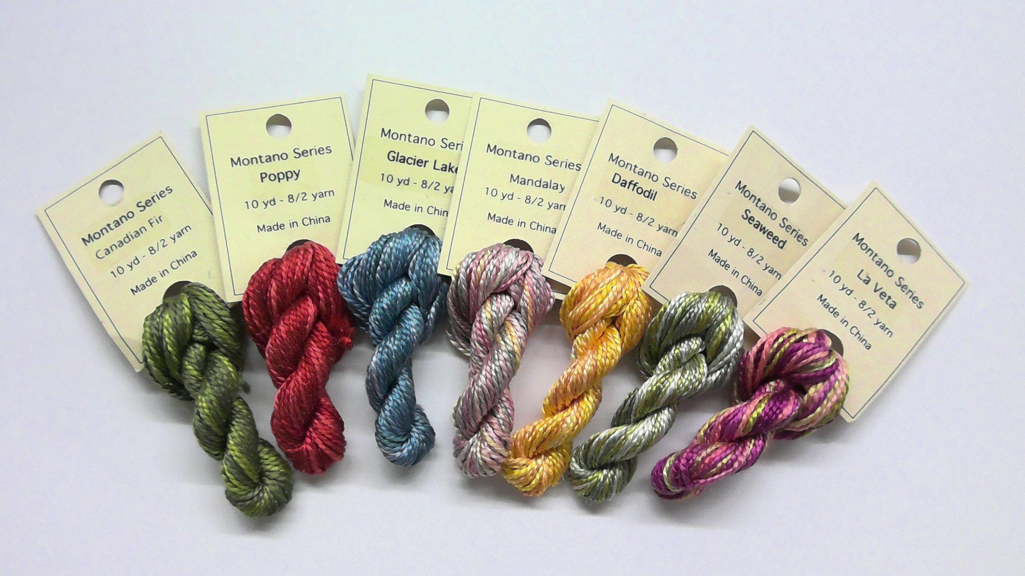 8/2 Floss - 10 yd  -  Reeled Silk