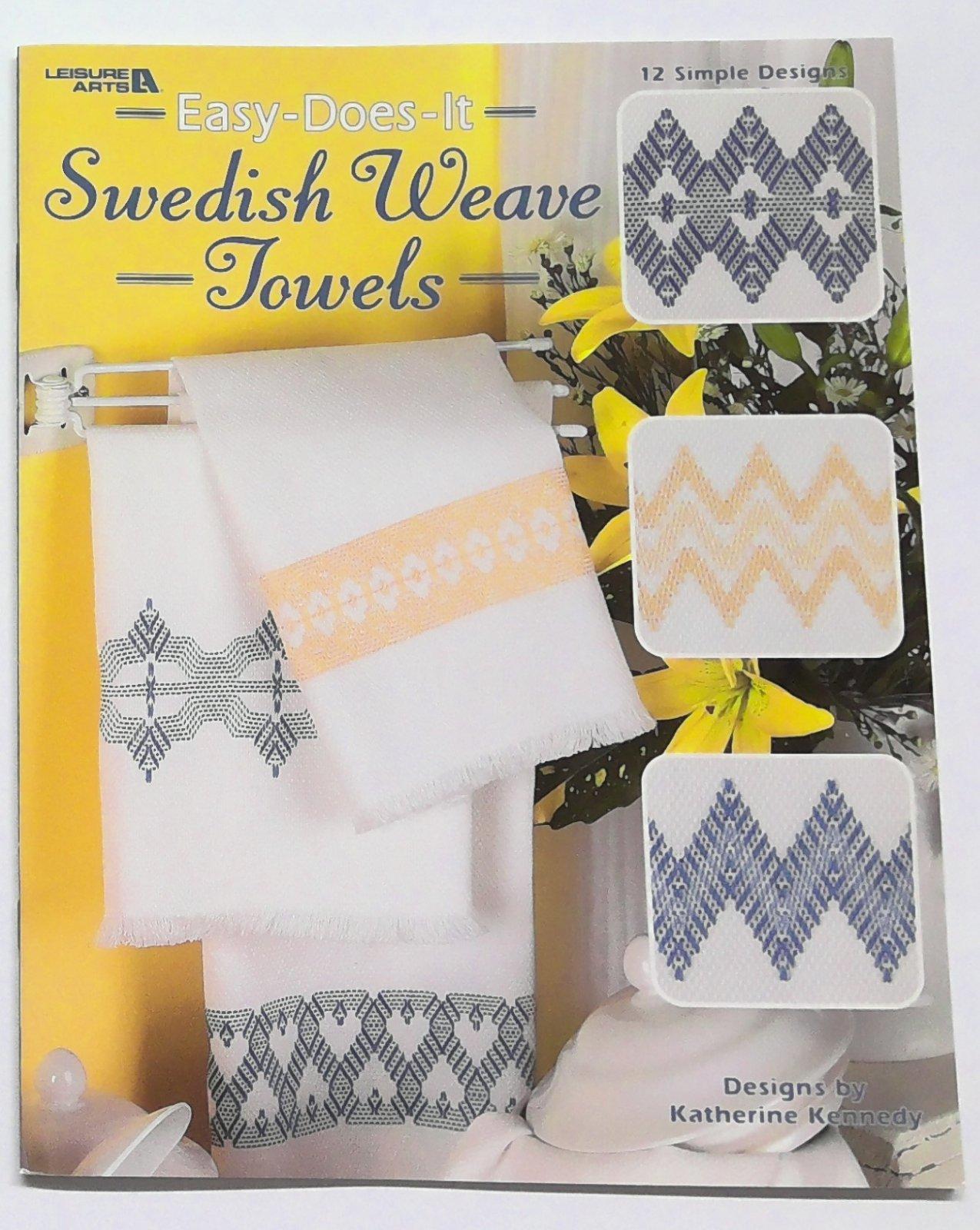 Swedish Weave Towels