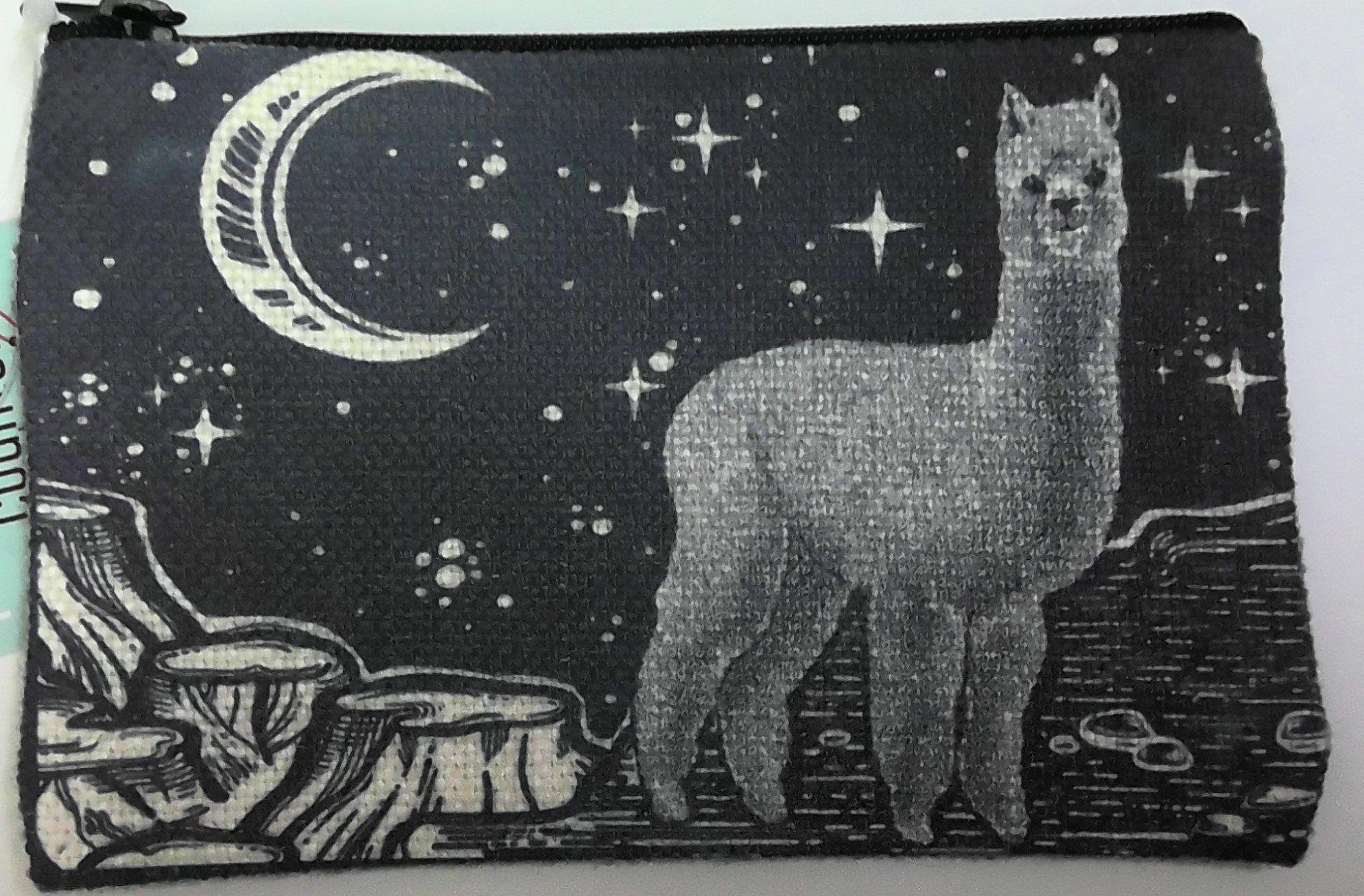 Alpaca Zipper Pouch - Small