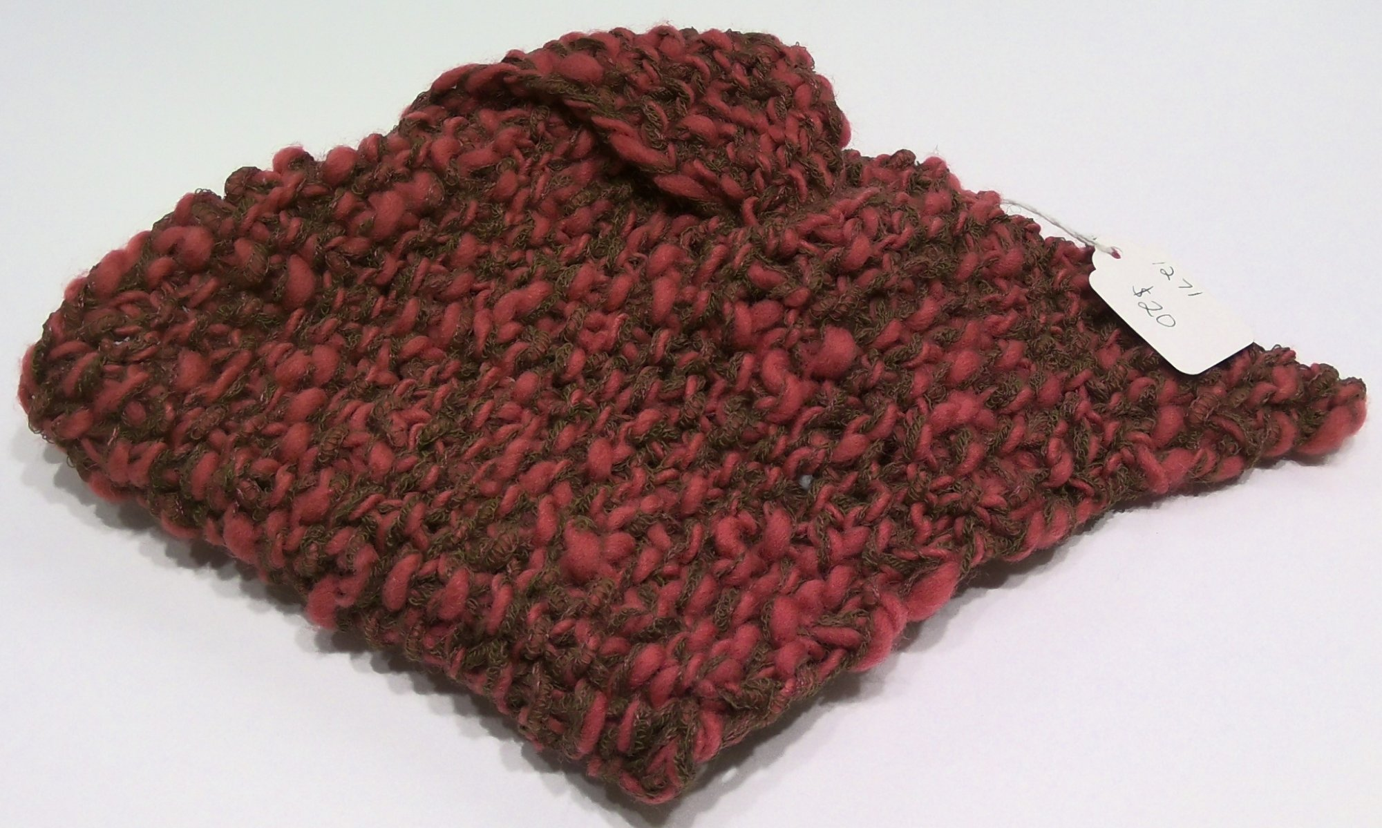 Triangle Knitted Scarf