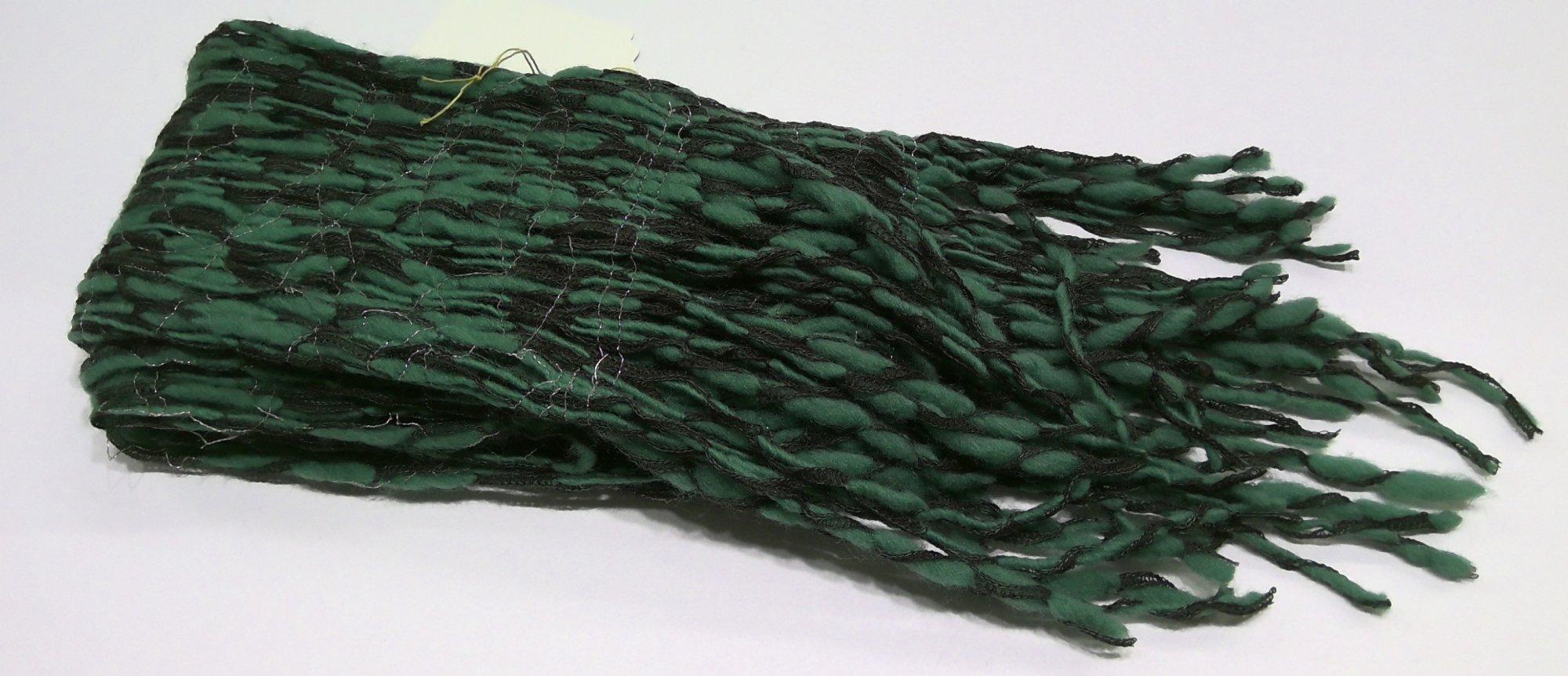 Green Sewn Scarf