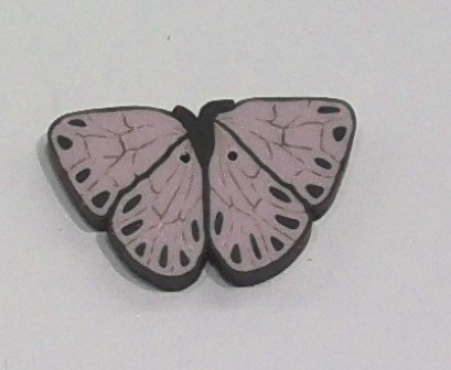 Just Buttons - Pink Butterfly