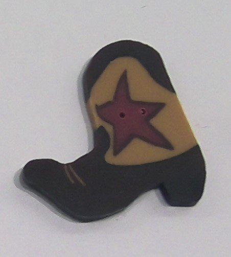 Just Buttons - Cowboy Boot