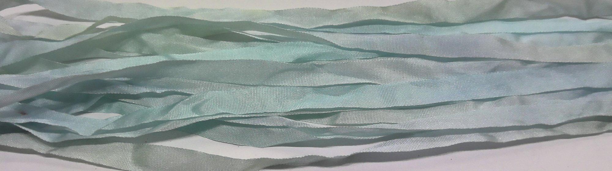 KM 7mm Silk Ribbon - Blue
