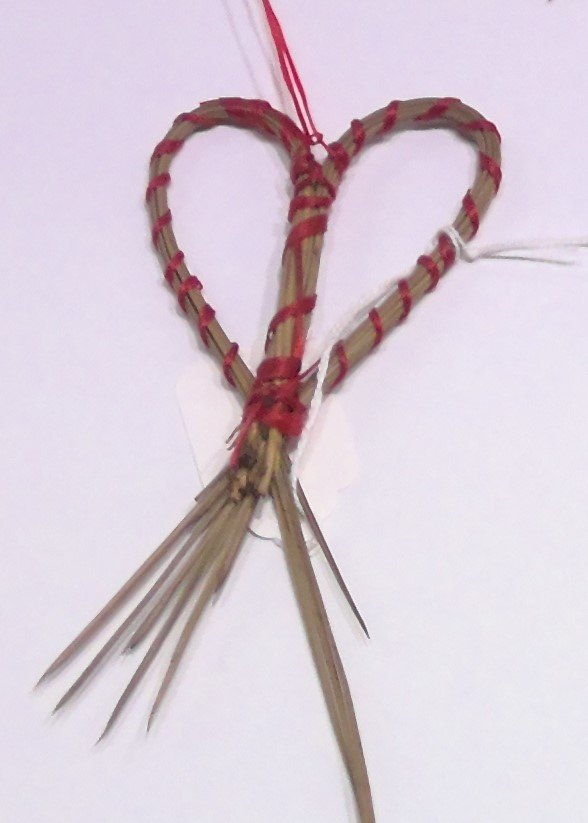 Pine Needle Christmas Ornaments