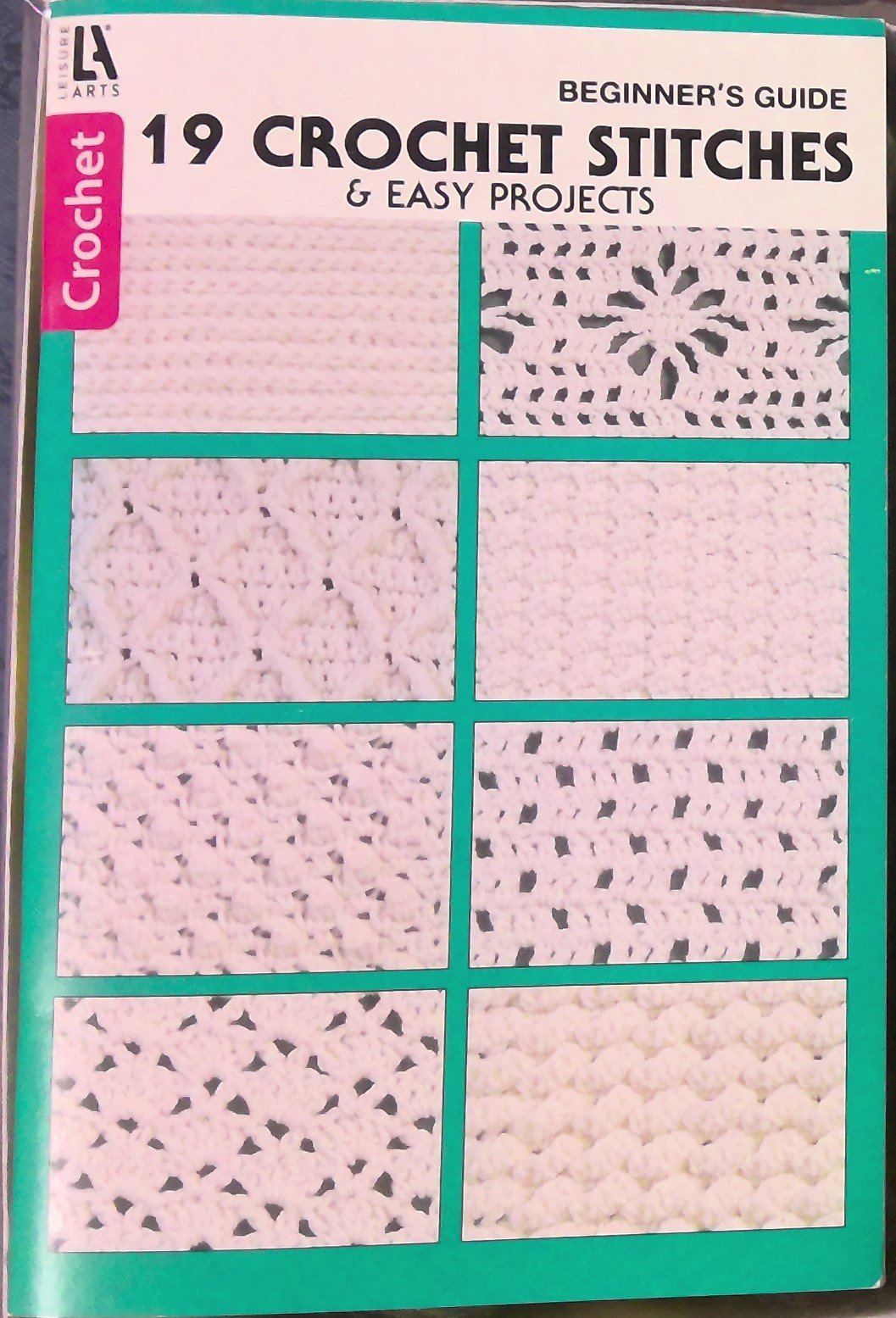 19 Crochet Stitches & Easy Projects