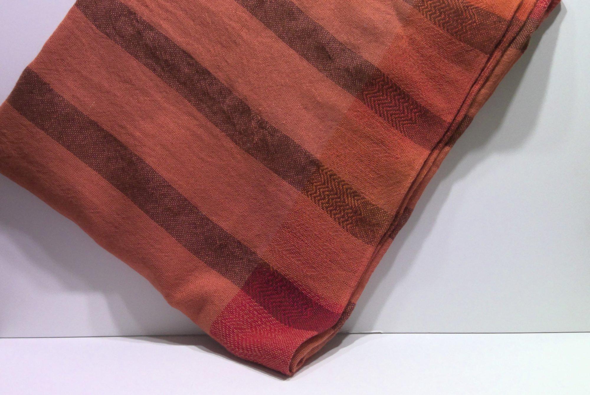 100% Wool Woven Throw Light Weight