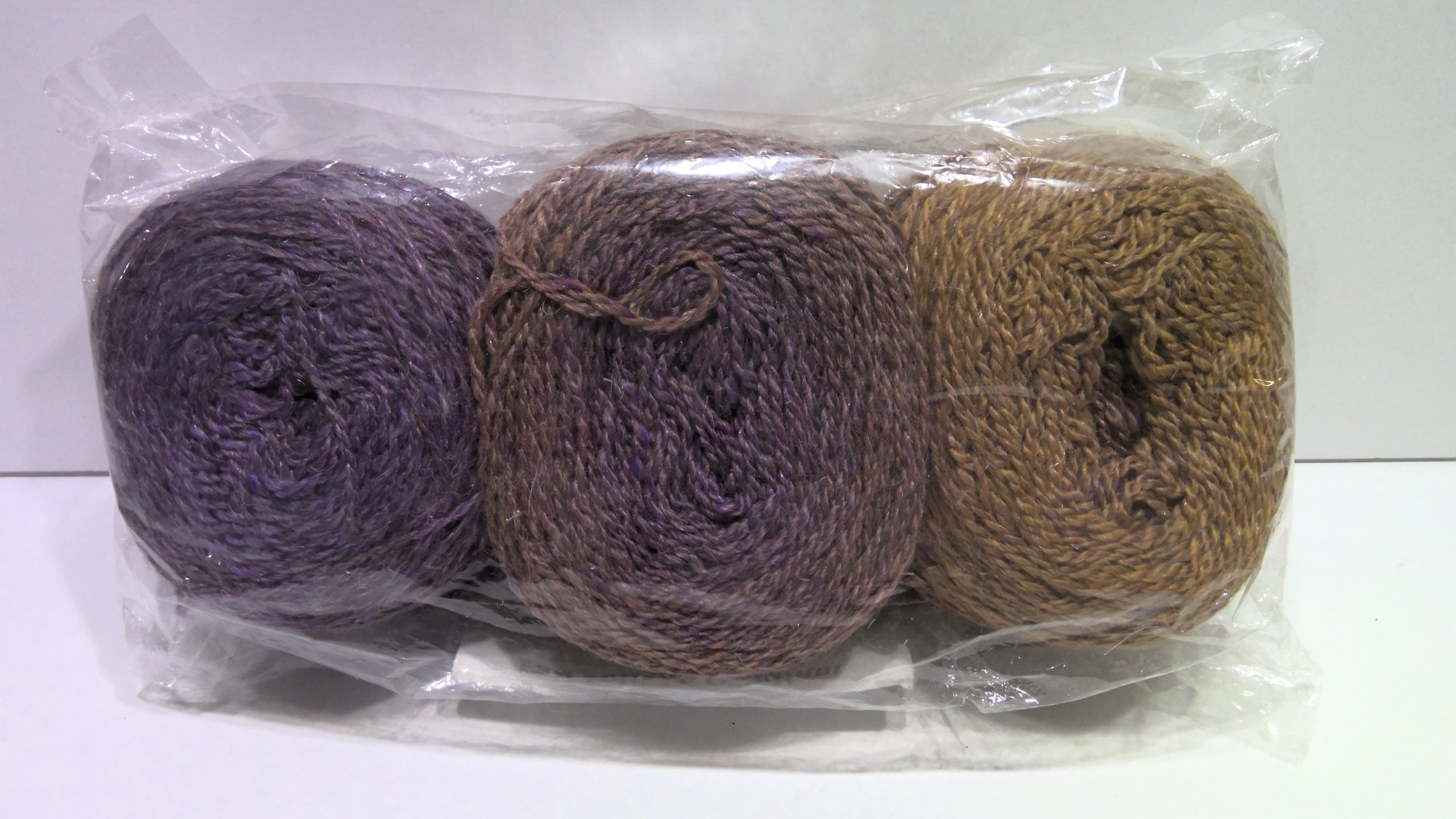 Fall Foliage Gradient Yarn   3 Pack - 2 Ply Fingering