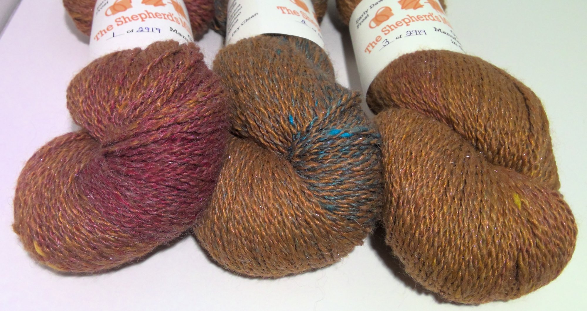 Early Dawn Frost Gradient  2 Ply Fingering  -  2919