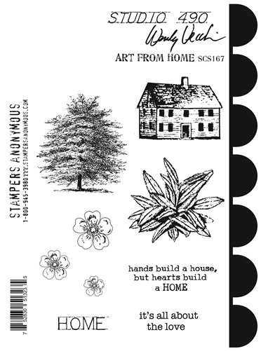 Art From the Home Stamp/Stenci