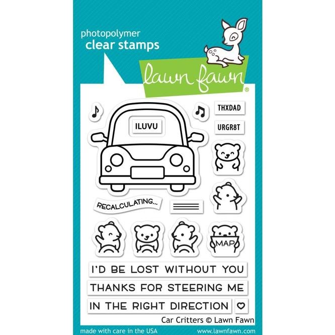 Car Critters Stamp