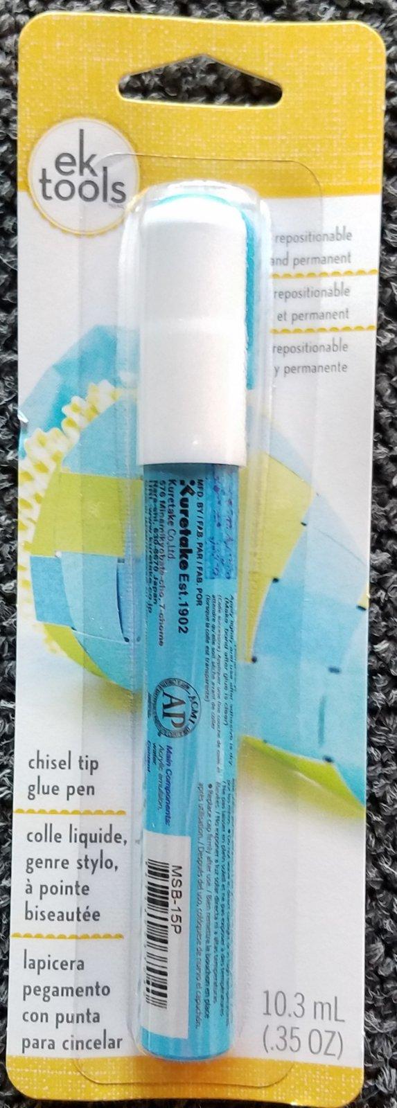 Zig Glue Pen - Chisel Tip