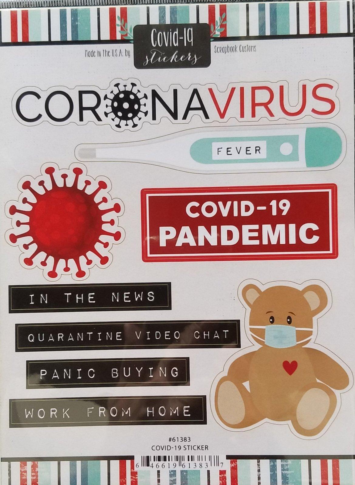 Covid 19 Sticker