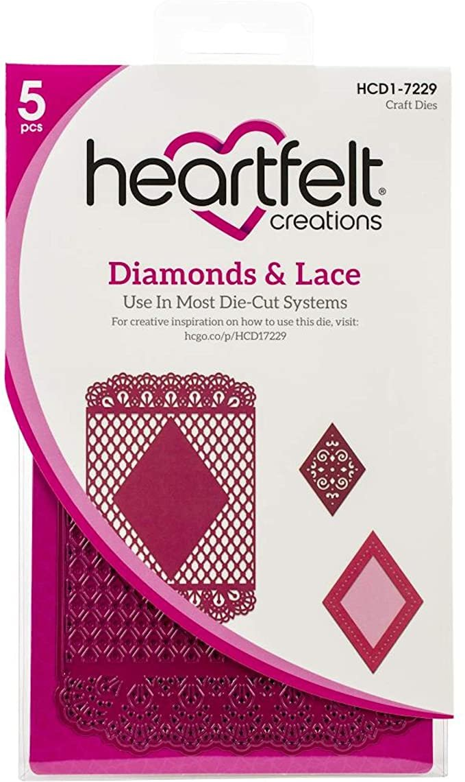 Diamonds & Lace Die