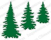 Evergreen Trees Die Set