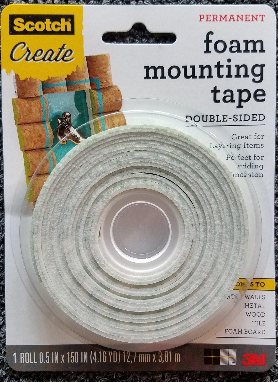 3M Foam Mounting Tape